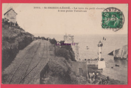 22 - SAINT BRIEUC-LEGUE--La Voie Du Petit Chemin A Son Point Terminus - Saint-Brieuc