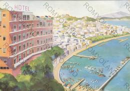 CARTOLINA  NAPOLI,CAMPANIA,HOTEL PARADISO,BELLA ITALIA,MARE,SOLE,LUNGOMARE,CULTURA,STORIA,RELIGIONE,VIAGGIATA 1963 - Napoli
