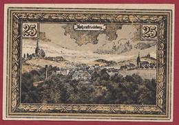 Allemagne 1 Notgeld  De 25 Pf Stadt  Hohenfriedeberg (1C) (RARE) Dans L 'état   Lot N °217 - Colecciones