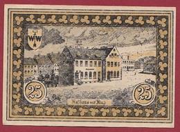 Allemagne 1 Notgeld  De 25 Pf Stadt  Hohenfriedeberg (3C) (RARE) Dans L 'état   Lot N °219 - Colecciones