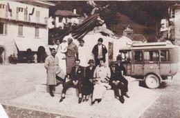 BARZIO - MAGGIO (LECCO)  FOTOGRAFIA D'EPOCA - LINEA TRASPORTO - VALSASSINA - Lecco