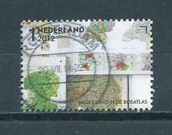 2012 Netherlands Bosatlas Used/gebruikt/oblitere - Used Stamps