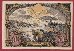 Allemagne 1 Notgeld  De 50 Pf Stadt  Hohenfriedeberg (4B) (RARE) Dans L 'état   Lot N °224 - Colecciones