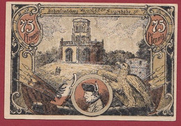 Allemagne 1 Notgeld  De 75 Pf Stadt  Hohenfriedeberg  (RARE) Dans L 'état   Lot N °225 - Colecciones