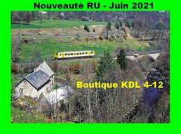 RU 1882 - Autorail X 92203 Au Moulin De Chanterone - NEUSSARGUES - Cantal - SNCF - Otros Municipios