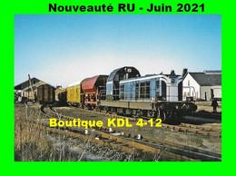 RU 1887 - Train - Loco BB 66307  En Gare - MAURIAC - Cantal - SNCF - Mauriac