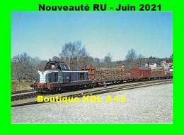 RU 1898 - Train - Loco BB 66 248 En Gare - LA COURTINE - Creuse - SNCF - La Courtine