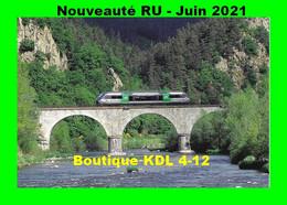 RU 1902 - Autorail X 73500 Franchissant La Loire à RETOURNAC - Haute Loire - SNCF - Retournac