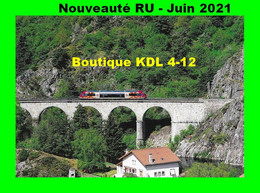 RU 1909 - Autorail X 73500 Sur Le Viaduc De CHAPEAUROUX - Lozère - SNCF - Otros Municipios