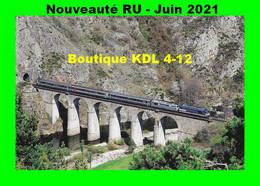 RU 1910 - Train Le Cévenol, Locos BB 67400 Sur Le Viaduc Du Thor Vers CHAPEAUROUX - Lozère - SNCF - Langogne