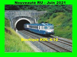 RU 1913 - Autorail X 2834 Sortant Du Tunnel De RANDAN - Puy De Dôme - SNCF - Otros Municipios
