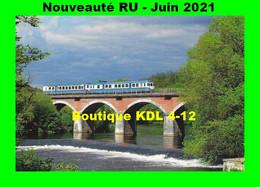 RU 1924 - Autorail X 2913 Franchissant La Vienn - ISLE Et CONDAT-SUR-VIENNE - Haute Vienne - SNCF - Condat Sur Vienne