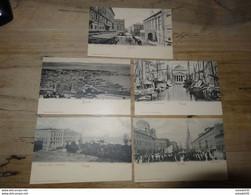 ITALIE: TRIESTE : Lot De 5 Cartes (dos 1900) ................ 201101-1744 - Trieste