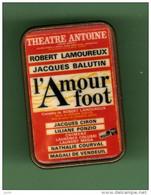 THEATRE ANTOINE *** L'AMOUR FOOT *** 2112 - Cinema