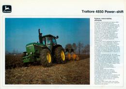 "JOHN DEERE "" TRATTORE 4850 POWER - SHIFT "" - Advertising"