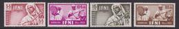 IFNI 1953 - Serie Completa Nueva Sin Fijasellos Edifil Nº 95/98 -MNH- - Ifni