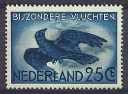 Nederland 1953 Luchtpost 14 Postfris/MNH Vliegende Kraai, Crow, Corbeau, Vogels, Birds, Oiseaux, Airmail - Airmail