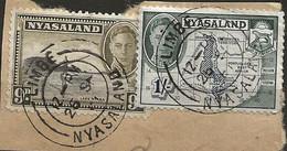 Timbre Nyasaland Belle Obliteration Limbé - Nyassaland (1907-1953)