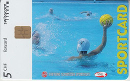 SWITZERLAND - PHONE CARD - TAXCARD PRIVÉE- CHIP *** SPORTCARD & WATER-POLO *** - Suiza
