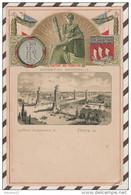 5AH84 EXPOSITION UNIVERSELLE TUCK PARIS PONT ALEXANDRE FLUCTUAT NEC MERGITUR 2  SCANS - Exhibitions