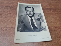 Postcard - Film, Actor,   Fredric March      (29554) - Acteurs