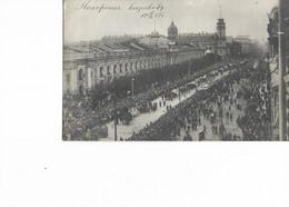 Très Belle Carte-photo Légendée Au Recto - Issue D'un Lot Sur La Révolution Russe 1917. - Evenementen