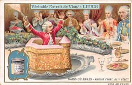 """Chromos.AM13411.Liebig.Nains Célèbres.Nicolas Ferry, Dit """"bébé"""" - Liebig"""
