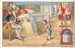 "Chromos.AM13412.Liebig.Nains Célèbres.Charles Stratton, Dit Le ""général Tom Pouce"" - Liebig"
