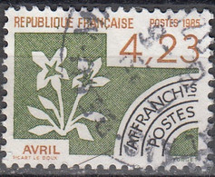 France 1985 Michel 2482 O Cote (2015) 2.00 Euro Le Mois D'avril Cachet Rond - Usados