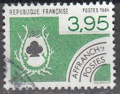 France 1984 Michel 2437 O Cote (2015) 1.40 Euro Trèfle Cachet Rond - Usados