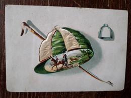 L36/2 CHROMO CHOCOLAT POULAIN - GAUFFREE . MATERIEL D'EQUITATION - Poulain