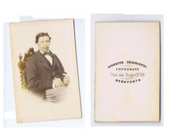 BENEVENTO -  FOTOGRAFO GIUSEPPE CHIAROTTI - FOTO CARTONATA FINE '800 (6) - Old (before 1900)