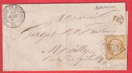 N°21 GC 3002 POUILLY EN MONTAGNE OR ARMANCON COTE D'OR - 1849-1876: Klassik