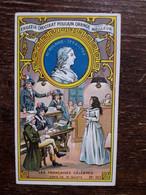 L36/4 CHROMO CHOCOLAT POULAIN ORANGE . LES FRANCAISES CELEBRES . MADAME ROLAND - Poulain