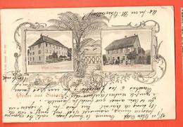 ZOR-26 SELTEN  Gruss Aus Sissach Hotel Löwen Und Pension Regenass. Pionier. Gelaufen 1905 - BL Bâle-Campagne