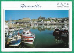 Granville (50) Port (photo E. Bénard) Flamme De Chausey 2scans (08-09-2009 ?) Chalutier Poulbot - Granville
