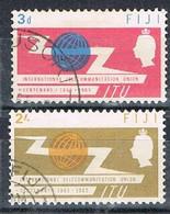 FIJI AP140 - 1965 ITU Set Used - Fiji (...-1970)