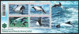 TAAF 2014 - Mi-Nr. Block 42 ** - MNH - Wale / Whales - Ungebraucht