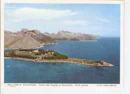 Postal 028215 : Mallorca. Pollensa. Costa Del Puerto A Formentor. Vista Aerea - Unclassified