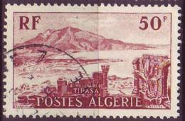 Timbre - Algérie - 1955 - Tipasa - Yvert 327 (Oblitéré) - Used Stamps