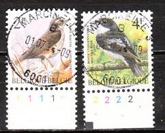 2653/54  Oiseaux - Buzin - Série Complète - Oblit. Centrales - LOOK!!!! - Gebruikt