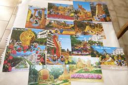 """LOT DE 11 CARTES ...""""MENTON...FETE DU CITRON"""" ..(plus 2 Phots A Identifier) - 5 - 99 Postcards"""