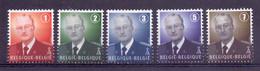 Belgie - 2007 - OBP - 3695/99 - ** K.Albert II  ** - Unused Stamps