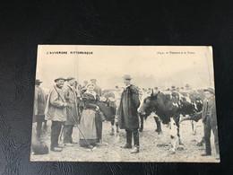 L'AUVERGNE PITTORESQUE - 1642 - Paysans à La Foire - Andere Gemeenten