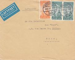 Dänemark: 1932: Luftpost Kopenhagen Nach Bern/Schweiz - Zonder Classificatie