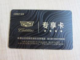 Cadillac Privilege Club Card - Unclassified