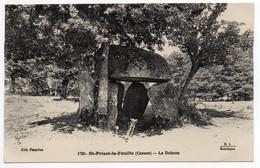 CPA    23      SAINT PRIEST LA FEUILLE   1931       DOLMEN - Dolmen & Menhirs