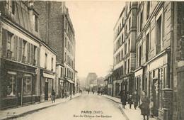 PARIS XIII RUE DU CHATEAU DES RENTIERS - Arrondissement: 13