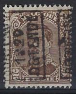 Koning Albert I Nr. 136 Type II Voorafstempeling Nr. 2562A  OOSTENDE 1920 OSTENDE ; Staat Zie Scan ! - Roller Precancels 1920-29