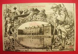 10 Troyes 1918 Hôpital Auxiliaire N°2 Centre Physiothérapie Les Jacobins WW1 Croix Rouge éditeur Non Lisible Dos Scanné - Troyes